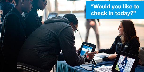 Increase check-ins