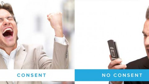 Customer Consent vs No Consent with text message marketing