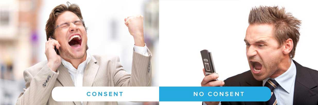 Customer Consent vs No Consent