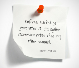 Referral marketing generates 3-5x higher conversion rates than any other channel.