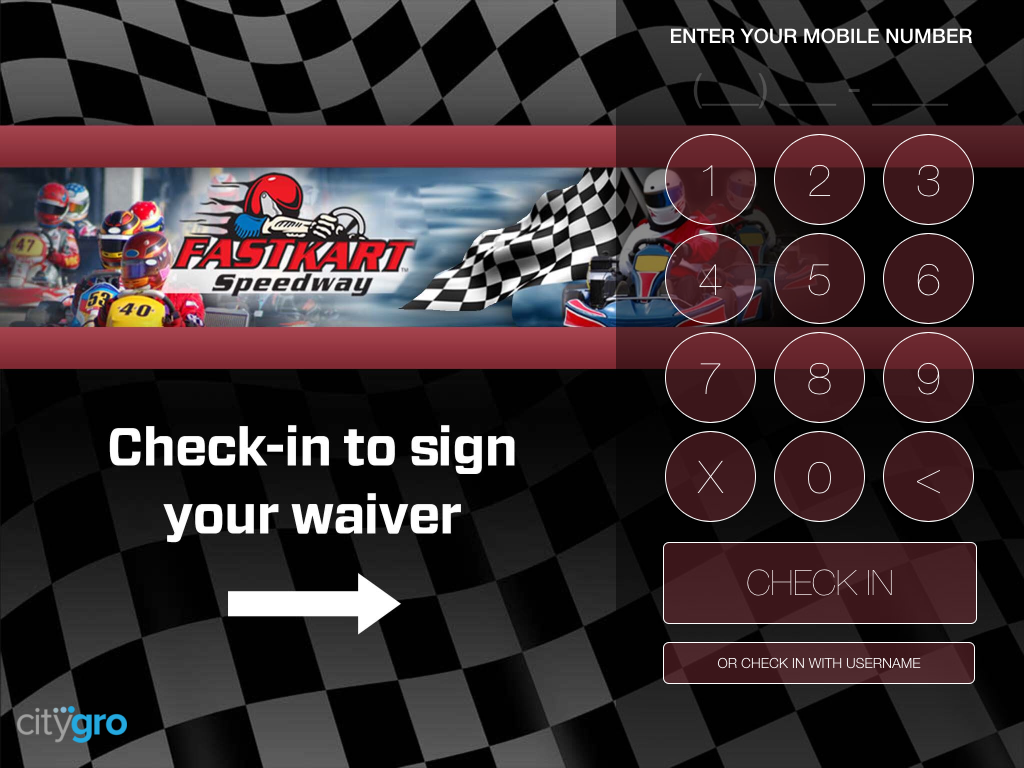 Digital Waiver Kiosk